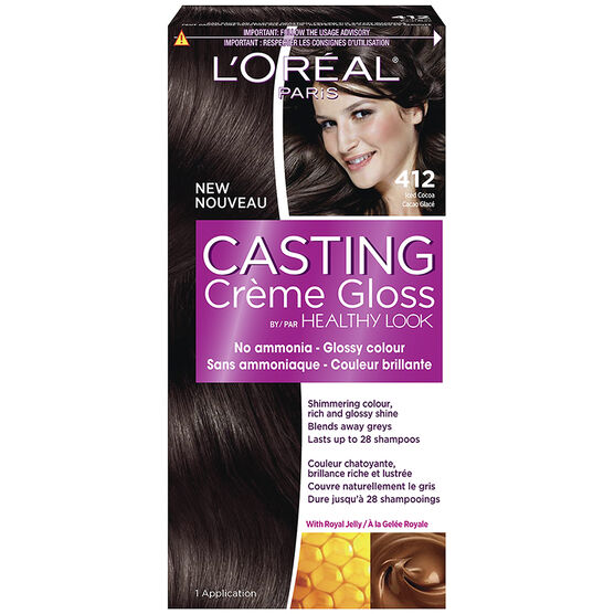 L'Oreal Casting Creme Gloss Colour - 412 Iced Cocoa