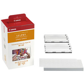 Canon Colour Ink & Paper Set RP-108 - 8568B001