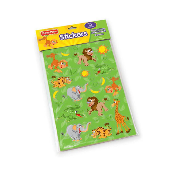 Fisher Price Everyday Fun Stickers - 4 Sheets