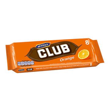 McVitie's Club Orange Biscuit - 8 pack