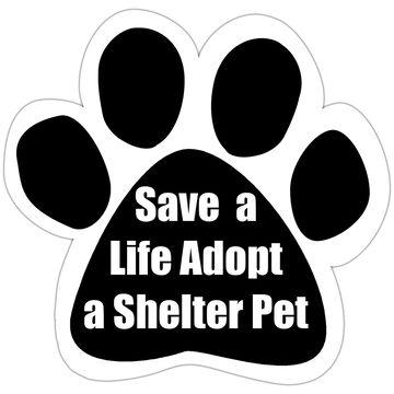 Pet Magnet - Save a Life Adopt a Shelter Pet
