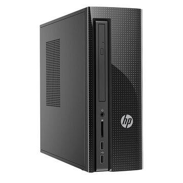 HP 260-a069 Slim Desktop Computer - Black - V8Q23AA#ABL