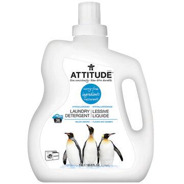 Attitude Laundry HE Detergent - Wildflowers - 1.8L