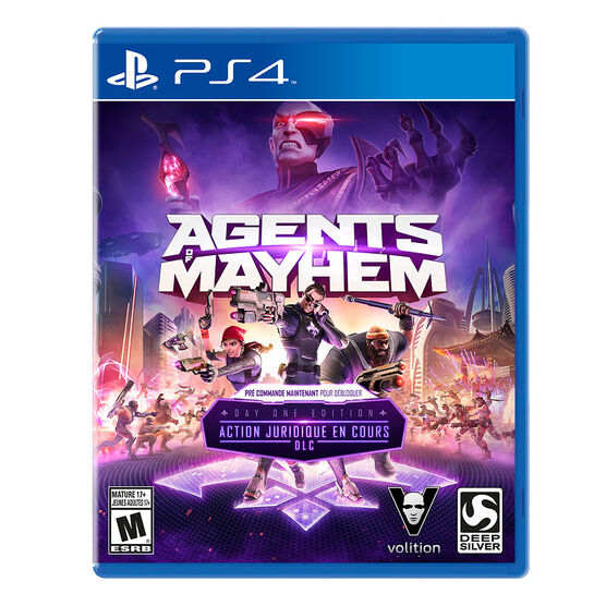 PRE-ORDER: PS4 Agents of Mayhem Day 1