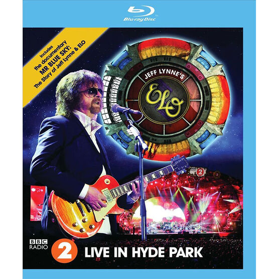 Jeff Lynne's ELO: Live in Hyde Park - Blu-ray