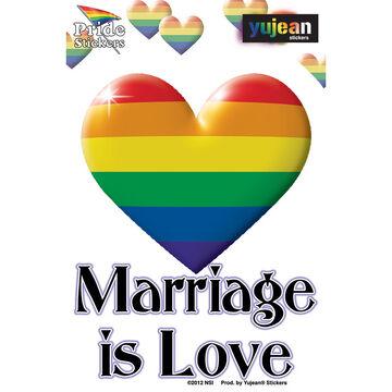 Marriage Is Love Sticker