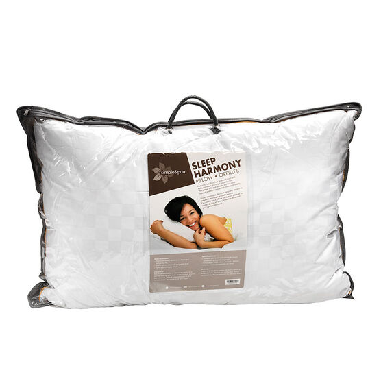 Simple and Pure Micro Gel Pillow - Queen