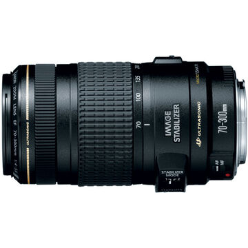 Canon EF 70-300mm f/4-5.6 IS USM Telephoto Zoom Lens - 0345B002