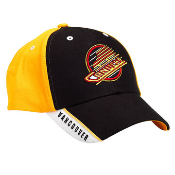 Canucks Heritage Frozen Rope cap