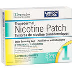 London Drugs Nicotine Patch - Step 1 - 14's