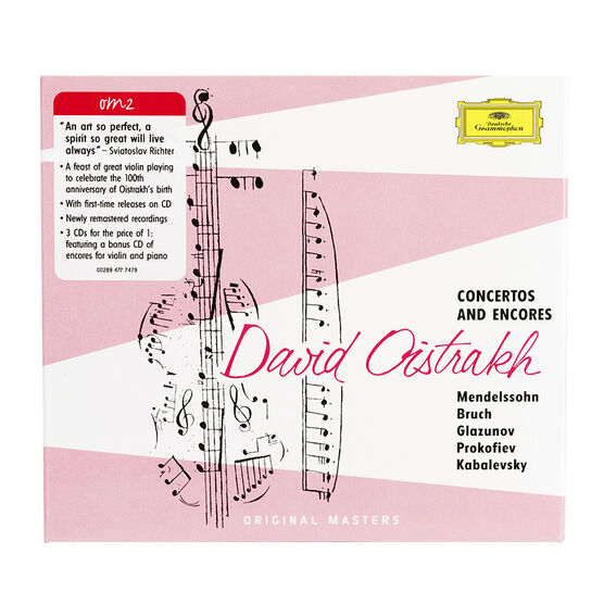 David Oistrakh - Concertos & Encores - CD