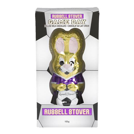 Russell Stover Hollow Sport Rabbit - Assorted - 113g