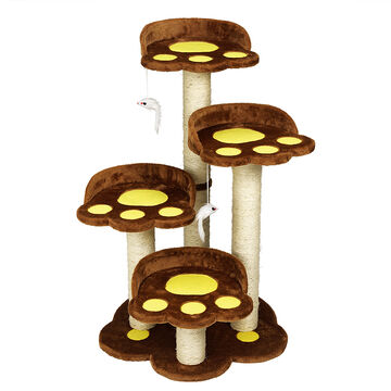 London Drugs Cat Tree - 5 Level - 58 x 58 x 92cm