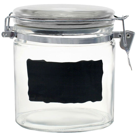 Chalk Talk Oval Canister - 6inch