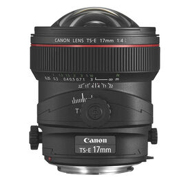Canon TS-E 17mm F4 L Lens - 3553B002
