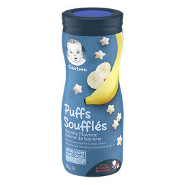 Gerber Toddler Snacks Puffs - Banana - 42g
