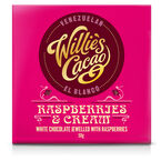 Willie's Cacao Chocolate Bar - Rasperries & Cream - 50g