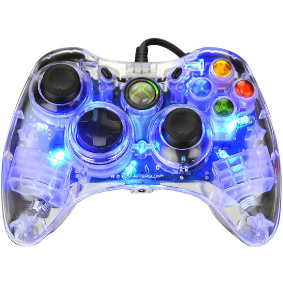 PDP Afterglow Controller for Xbox 360 - Blue - 3702BL