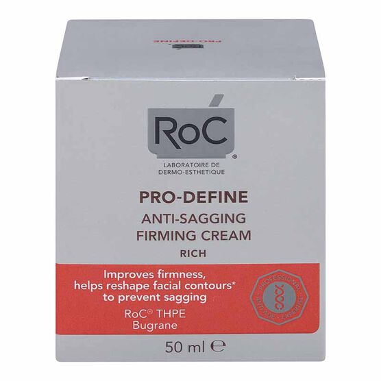RoC Pro-Define Anti-Sagging Firming Cream - Rich - 50ml