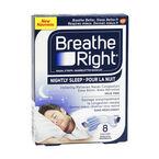 Breathe Right Nasal Strips Nightly Sleep - 8's