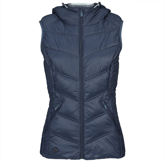 Volcano Bamboo Vest Jacket - Navy - Assorted