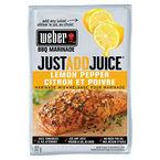 Weber Just Add Juice Marinade Mix - Lemon Pepper - 32g