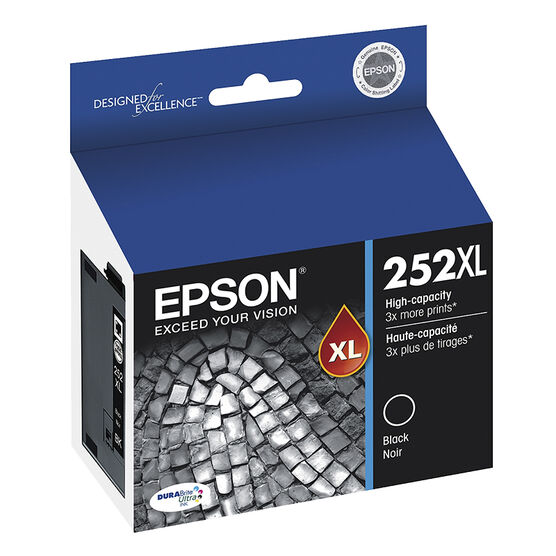 Epson T252XL Ink Cartridge - Black - T252XL120-S