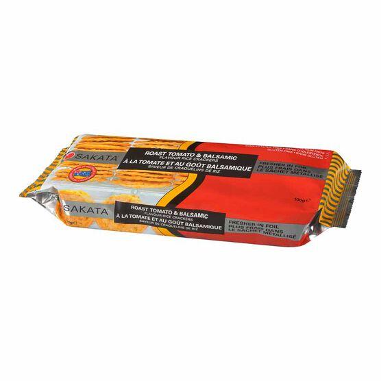 Sakata Rice Crackers - Roast Tomato & Balsamic - 100g