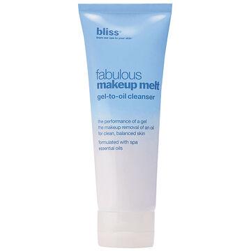 Bliss Fabulous Makeup Melt Gel-to-Oil Cleanser - 125ml