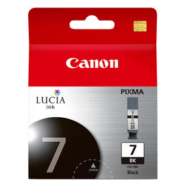 Canon PGI-7 Ink Cartridge - Black - 2444B002