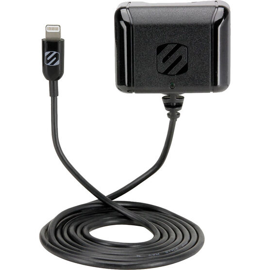 Scosche StrikeBase Wall Charger for Lighting Devices - 12W - SCI2H12