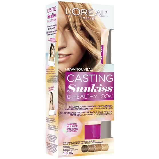L'Oreal Healthy Look Casting Sunkiss Hair Lightener - 02 Dark Blond to Light Blond