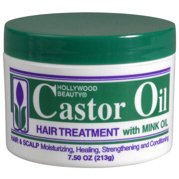Hollywood Beauty Castor Oil Hair Treatment - 210g