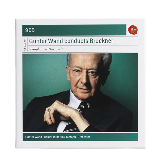 Gunter Wand - Gunter Wand Conducts Bruckner - 9 CD