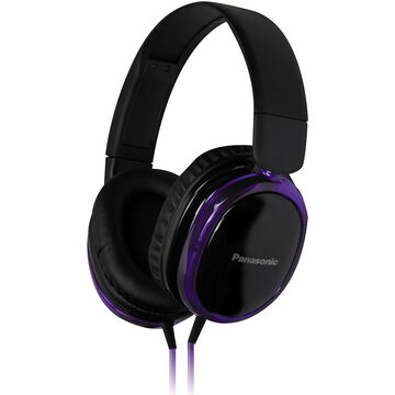 Pansonic Over-Ear Headphones with Mic - Purple - RPHX250MV