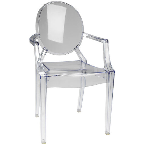 London Drugs Ghost Chair - Clear - 58 x 53 x 91.5cm  London Drugs