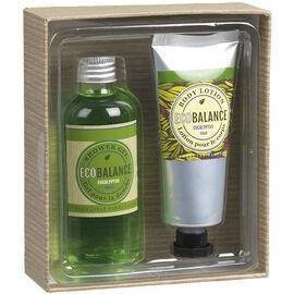 ECOBALANCE Bath Gift Box - Eucalyptus - 2 piece