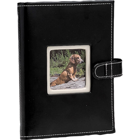 Pioneer Sewn Frame Mini Album - 24 Photos - 1 Up - Assorted Colours