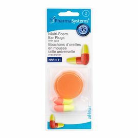 PharmaSystems uHear Multi-Foam Ear Plugs - 2's