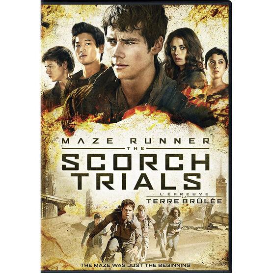 The Maze Runner: The Scorch Trials - DVD