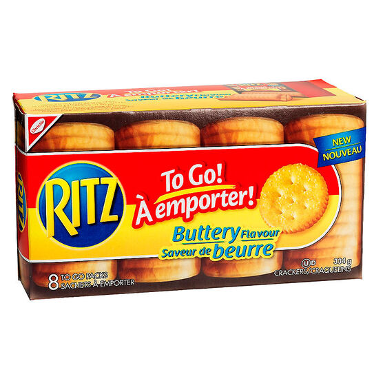 Christie Ritz to Go Crackers - Buttery - 334g