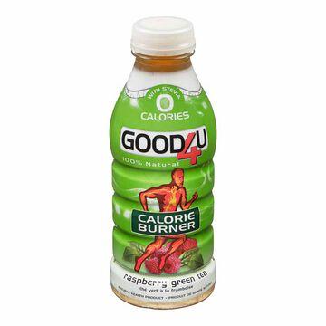 Good4U Zero - Raspberry Green Tea - 473ml