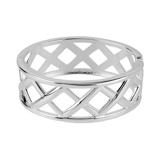 Haskell Cuff Bracelet - Silver
