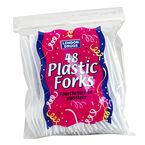 London Drugs Plastic Forks - 48 Pack