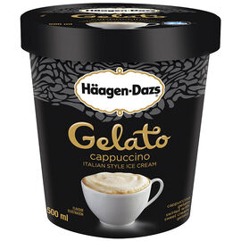 Haagen-Dazs Ice Cream - Gelato Cappuccino - 500ml