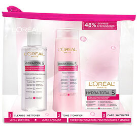 L'Oreal Hydra-Total 5 Ultra-Soothing Kit - 3 piece