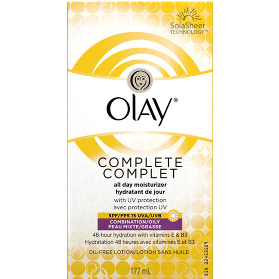 Olay Complete Moisturizer - SPF15 - Combination/Oily - 177ml