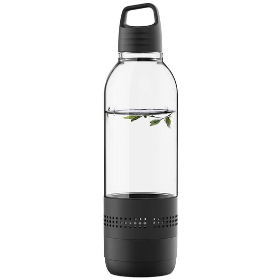 Sylvania Water Bottle Speaker - Black - SP650BLACK