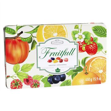 Ganong Fruitful Tin - 450g