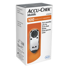 Roche Accu-Chek Mobile Cassette - 100 tests